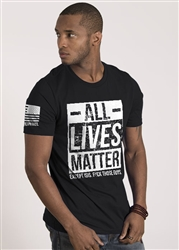Nine Line Men's Short Sleeve T-Shirt All Lives Matter