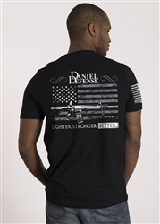 Nine Line Men's Short Sleeve T-Shirt Daniel Defense Old Glory