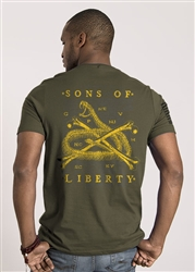 Nine Line Men's Short Sleeve T-Shirt Sons Of Liberty