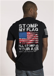 Nine Line Men's Short Sleeve T-Shirt Stomp My Flag
