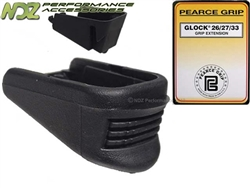 Pearce Grip PG-2733 Plus One Extension for Glock 26 27 33 39