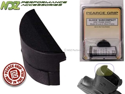 Pearce Grip PG-FI20SF Grip Plug for Glock Gen 1-3 20SF 21SF