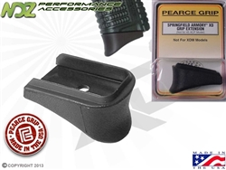 Pearce Grip PG-XD Grip Extension for Springfield Armory XD