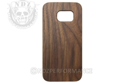 NDZ Wood Phone Case for Samsung Galaxy S7 Black Walnut (*LZ)