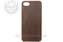NDZ Wood Phone Case for Apple Iphone 7 & 8 Black Walnut (*LZ)