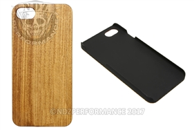 NDZ Wood Phone Case Apple Iphone 7 & 8 Zebrawood