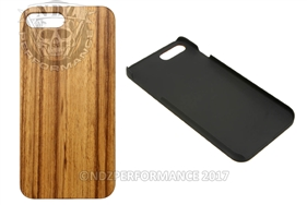 Wood Phone Case Apple Iphone 7 8 PLUS Zebrawood