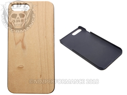 Wood Phone Case IPhone 7 Plus 8 Plus Maple Wood