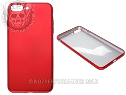 Red Silicone Phone Case IPhone 7 Plus 8 Plus