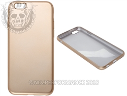 Gold Flexible Silicone Phone Case IPhone 6