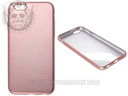 Rose Gold Flexible Silicone Phone Case IPhone 6