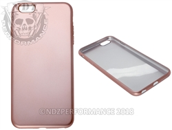Rose Gold Flexible Silicone Phone Case IPhone 6 PLUS