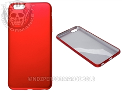Red Flexible Silicone Phone Case IPhone 6 PLUS