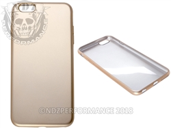 Gold Flexible Silicone Phone Case IPhone 6 PLUS