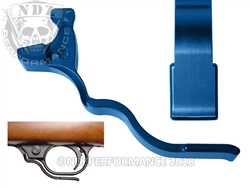 NDZ Blue Magazine Release Long for Ruger 10/22 (*LZ)