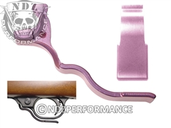 NDZ Pink Magazine Release Long for Ruger 10/22 (*LZ)