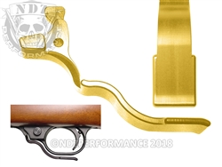 NDZ Gold Magazine Release Long for Ruger 10/22 (*LZ)