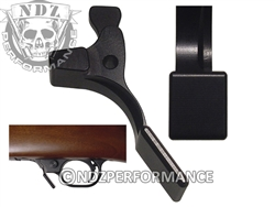 NDZ Black Magazine Release Short for Ruger 10/22 (*LZ)