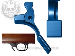 NDZ Blue Magazine Release Short for Ruger 10/22 (*LZ)