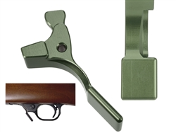 NDZ Green Magazine Release Short for Ruger 10/22 (*LZ)