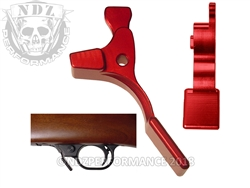 NDZ Red Magazine Release Short for Ruger 10/22 (*LZ)