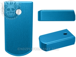 NDZ Magazine Plate for Ruger LCP 2 .380 Blue