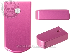 NDZ Magazine Plate for Ruger LCP 2 .380 Pink