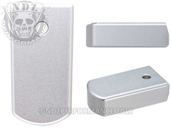 NDZ Magazine Plate for Ruger LCP 2 .380 Silver