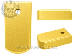 NDZ Magazine Plate for Ruger LCP 2 .380 Gold