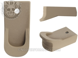 Magazine Finger Extension Ruger LCP 2 .380 FDE