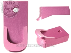 Magazine Finger Extension Ruger LCP 2 .380 Pink