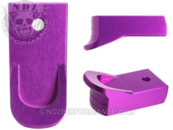 Magazine Finger Extension Ruger LCP 2 .380 Purple