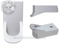 Magazine Finger Extension Ruger LCP 2 .380 Silver