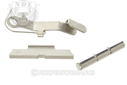 RYG Chrome Trigger Pin, Slide Lock, Slide Release for Glock