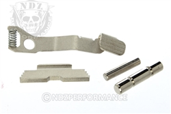 RYG Chrome 2 Pin, Slide Lock, Slide Release for Glock 42 43