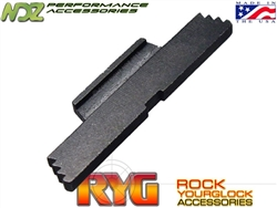RYG Black Extended Slide Lock Lever ESLL for Glock Gen 1-4