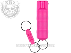 Sabre Pink Key Case Pepper Spray Quick Release | NDZ Performance