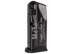 Sig Sauer P365 10 Round Magazine With Laser Engraved Bill Of Rights & Baseplate