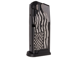 Sig Sauer P365 10 Round Magazine With Laser Engraved US Flag