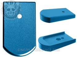 NDZ Mag Plate for Sig P226 9mm .40 .357 Blue