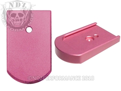 NDZ Mag Plate for Sig P226 9mm .40 .357 Pink