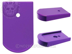 NDZ Mag Plate for Sig P226 9mm .40 .357 Purple