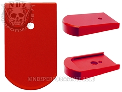 NDZ Mag Plate for Sig P226 9mm .40 .357 Red
