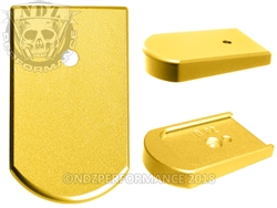 NDZ Mag Plate for Sig P226 9mm .40 .357 Gold
