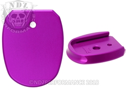 Aftermarket Sig Sauer P227 Purple Magazine Base Plate For 10 & 14 Round | NDZ Performance
