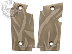 Aftermarket Sig P238 grips - Cerakote Tiger Stripe | NDZ Performance