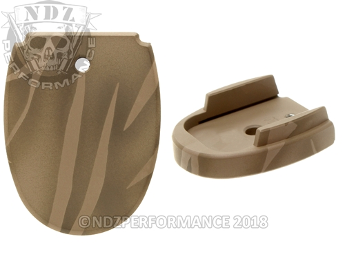 Tiger Stripe Magazine Base Plate For Sig Sauer P320 P250 45 | NDZ Performance