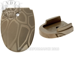 Cryptek Magazine Floor Base Plate For Sig Sauer P320 P250 9MM 357 40 | NDZ Performance
