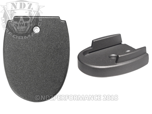 Sig Sauer P320 P250 Aftermarket Magazine Base Plate 9MM 357 40 Cerakote Tungsten | NDZ Performance
