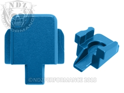 Aftermarket Blue Sig P320 Slide Cover Plate - 9MM 357 40 | NDZ Performance